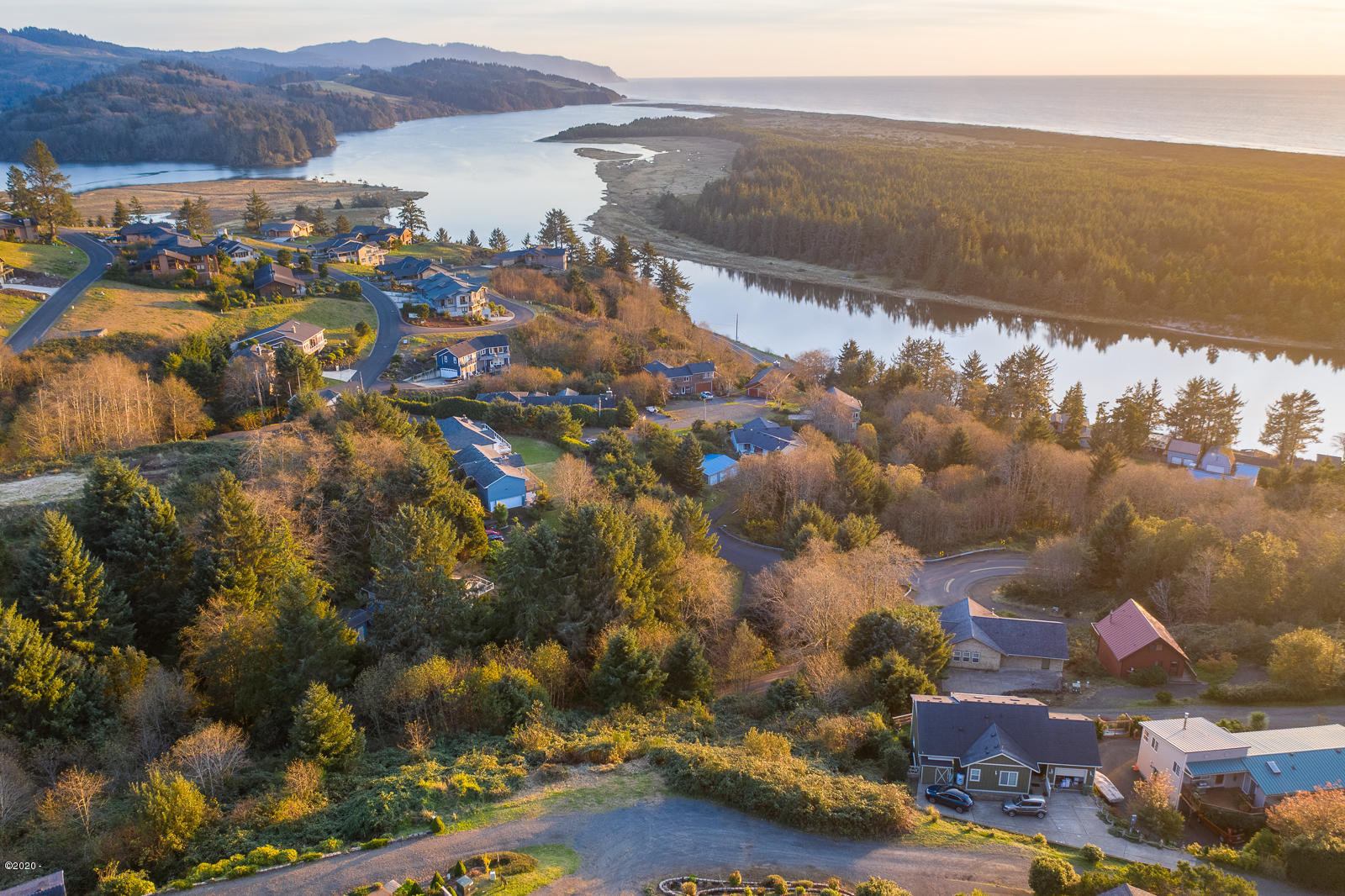 LOT 4 Fisher Rd, Pacific City, OR 97135 - Aerial View to Southwest