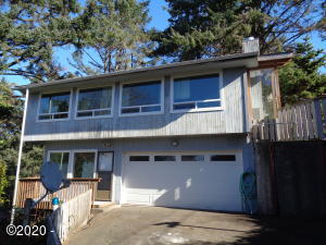 3238 NW Quay Dr, Lincoln City, OR 97367 - Front Elevation