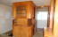3238 NW Quay Dr, Lincoln City, OR 97367 - Built in cabinets by kitchen