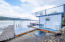 4018 NE 42nd St, Neotsu, OR 97364 - Boat & Two Waverunner Lifts