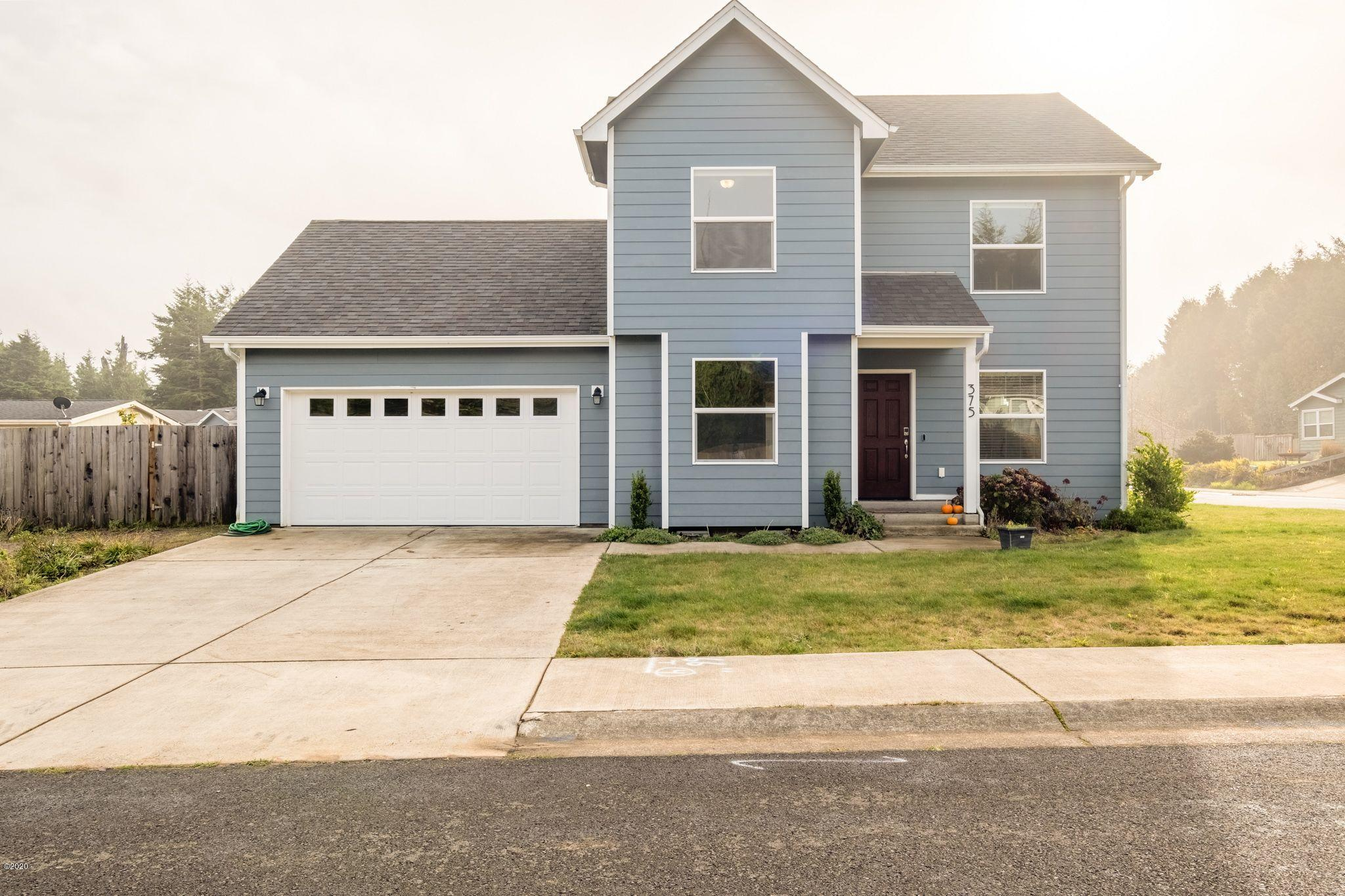 375 SW Wedge Dr, Waldport, OR 97394 - Front exterior