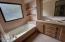 138 NE 57th St, Newport, OR 97365 - Master bath