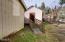 1521 N Nye St, Toledo, OR 97391 - Entranct to shed/Greenhouse