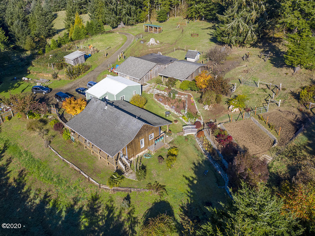 277 N S-low Road, Seal Rock, OR 97376 - Aerial