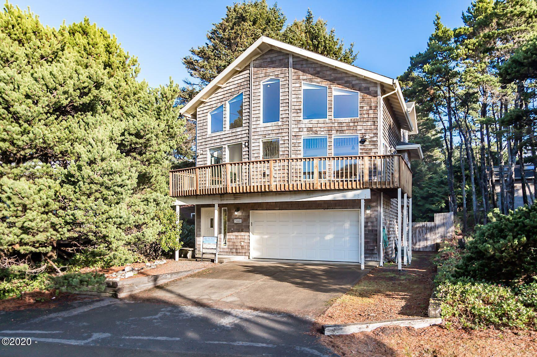 3460 Lincoln Ave, Depoe Bay, OR 97341 - Front view