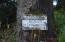 LCM # 13s11w07 Sw Hidden Lake Drive, Waldport, OR 97394 - Hidden Lake Sign