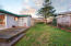 1020 SE Spy Glass Ridge Dr, Lincoln City, OR 97367 - Fenced back yard