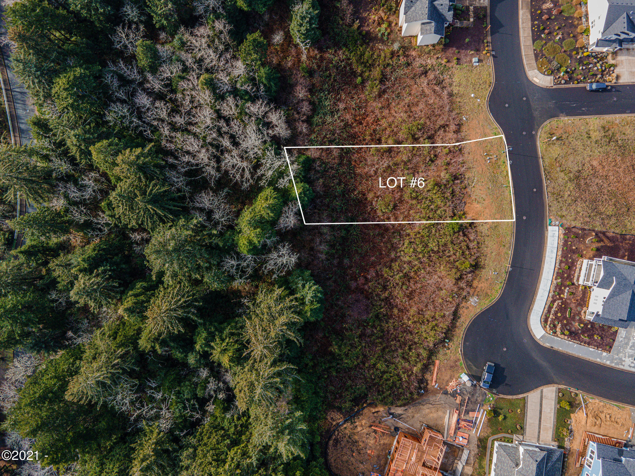 4300 BLK SE 43rd Street Lot 6, Lincoln City, OR 97367 - DJI_0516