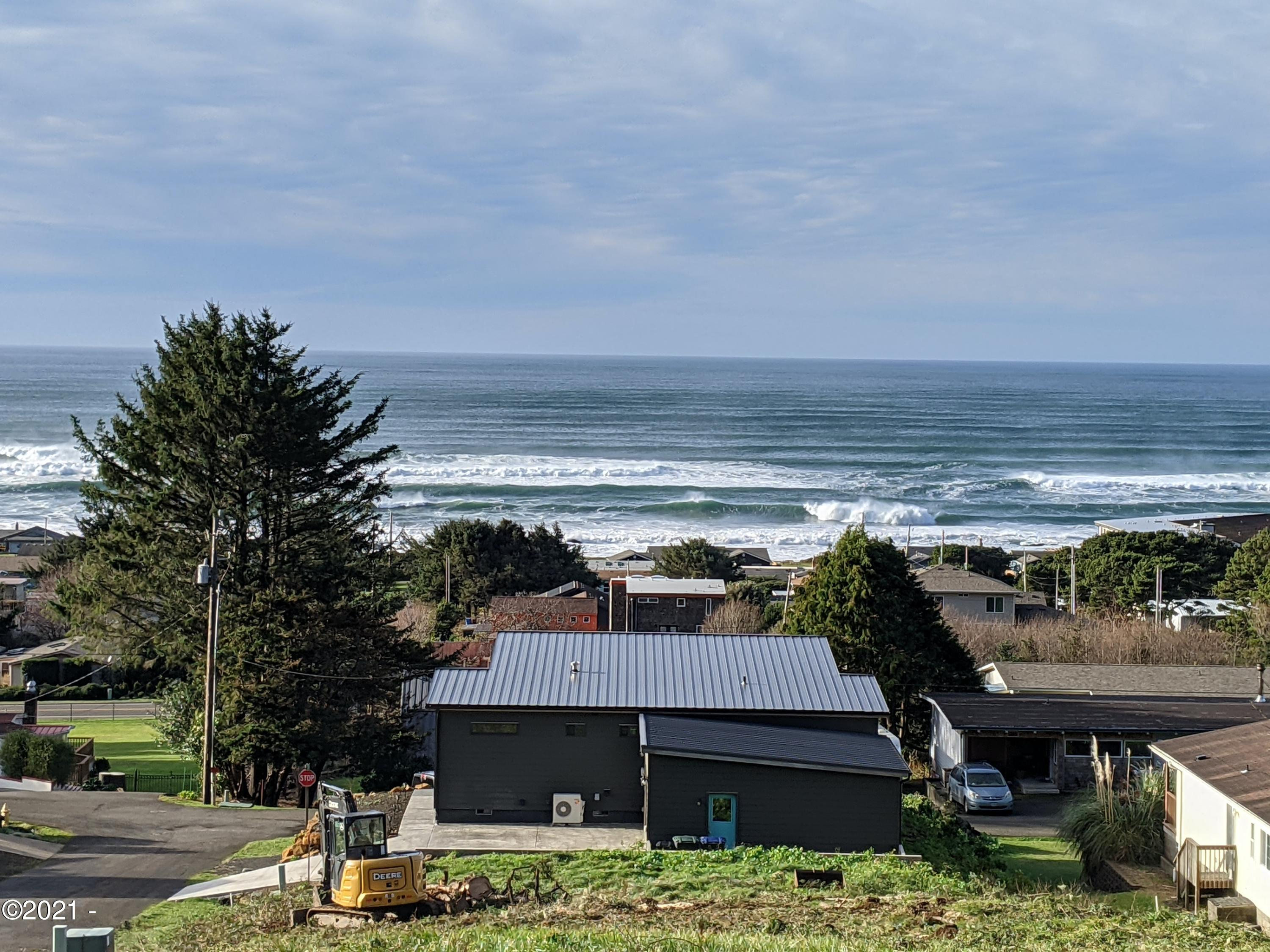237 Windsong St, Yachats, OR 97498 - Ocean Views From Lower Area Of Lot