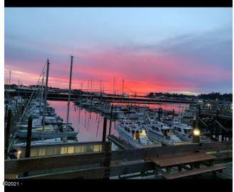 890 SE Bay Blvd, 107, Newport, OR 97365 - sunset from 107