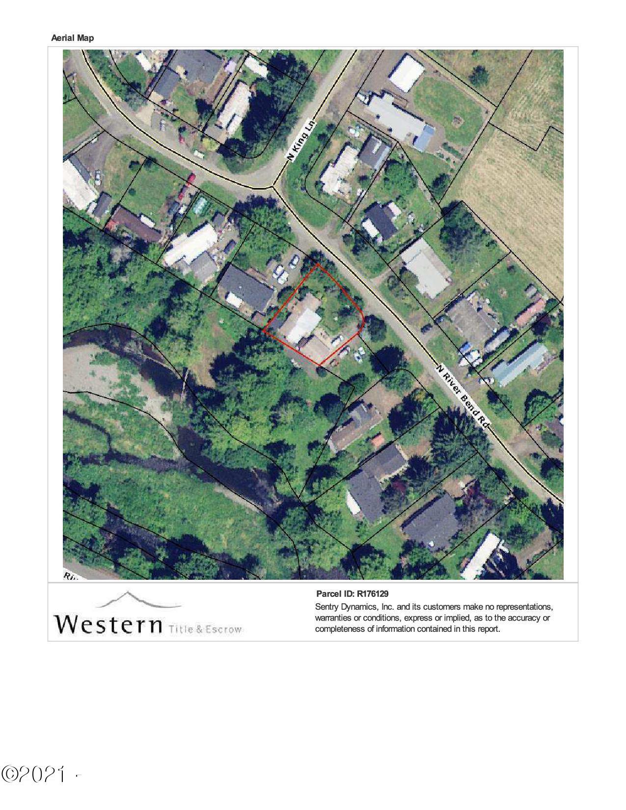 790 N River Bend Rd, Otis, OR 97368 - Plat