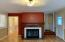 1914 NW 36th St, Lincoln City, OR 97367 - Fireplace