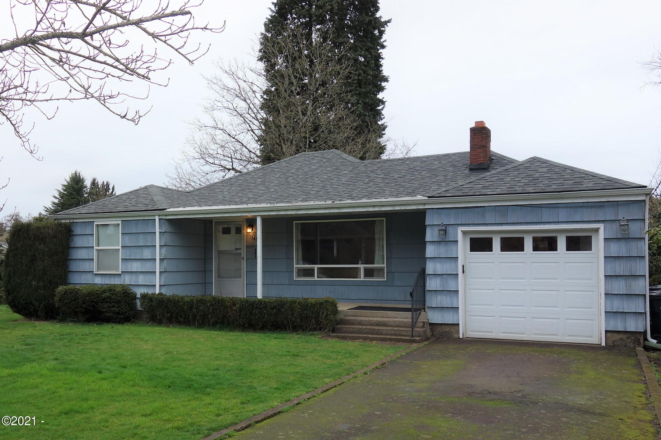 1345 Brickley Rd, Eugene, OR 97401 - Front of House