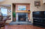 3849 Evergreen Ave, Depoe Bay, OR 97341 - North Side Gas Fireplace