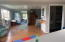 185 Huckleberry St, Waldport, OR 97394 - Dining & family room area