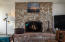 195 Fishing Rock Dr, Depoe Bay, OR 97341 - Great Room wood stove/fireplace