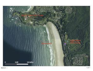 4047 NW Cherokee Ln, Newport, OR 97365 - Aerial Map