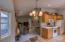 5760 El Mesa Ave, Lincoln City, OR 97367 - Kitchen toward Living