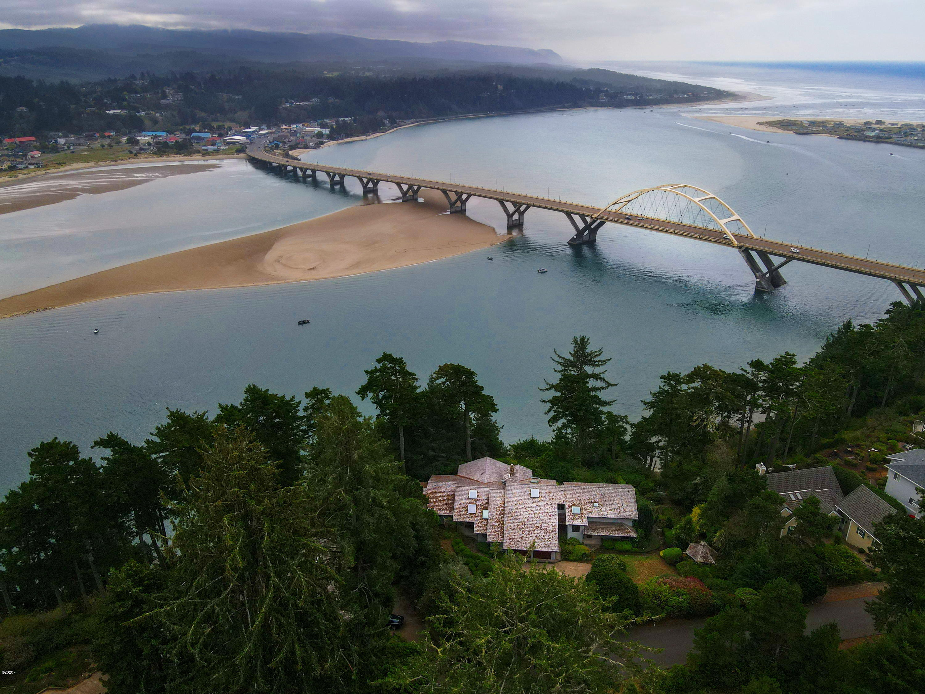 893 NW Highland Dr, Waldport, OR 97394 - Home and Bay