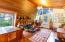 122 Ridge Crest Rd, Gleneden Beach, OR 97388 - Living room