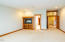 125 NE Allen, Depoe Bay, OR 97341 - Open Living Kitchen Bar with Fireplace