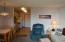 301 Otter Crest Dr, #316-7, 1/8th Share, Otter Rock, OR 97369 - Living/ dining to kitchen
