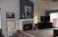 3065 Yaquina Bay Rd, Newport, OR 97365 - Living Room w/gas fireplace