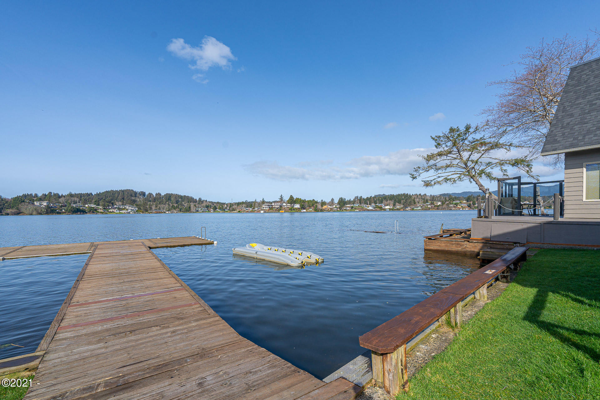 2961 NE Loop Dr., Otis, OR 97368 - Dock & View