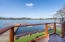 2961 NE Loop Dr., Otis, OR 97368 - Glass railed deck