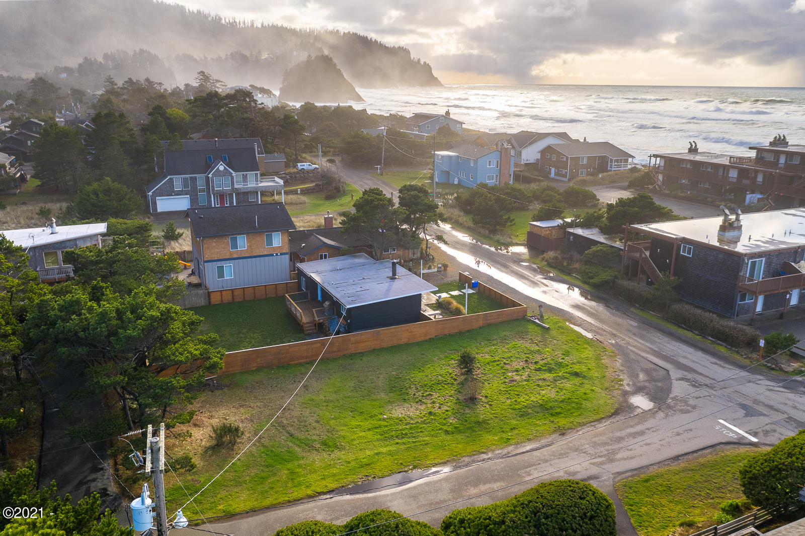TL 5400 Breakers Blvd, Neskowin, OR 97149 - Aerial