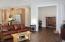 4325 SE Fleming St., Newport, OR 97366 - Living Room toward Office