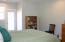 4325 SE Fleming St., Newport, OR 97366 - Master Bedroom with Door to Garden