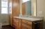 4325 SE Fleming St., Newport, OR 97366 - Master Bath Cabinets