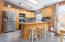 256 NE 56th Ct, Newport, OR 97365 - Brick wall in Kitchen