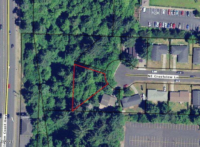 LOT NE Crestview Ln, Newport, OR 97365 - Map