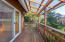 265 Wallace Street, Gleneden Beach, OR 97388 - Side Deck