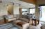 38 Salishan Loop, Gleneden Beach, OR 97388 - Living room to kitchen