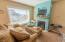 25 Clarke St, Depoe Bay, OR 97341 - Blue Cabana Living Area