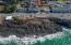 25 Clarke St, Depoe Bay, OR 97341 - Drone looking East