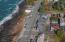 25 Clarke St, Depoe Bay, OR 97341 - Outlined Drone looking north
