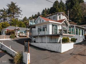 25 Clarke St, Depoe Bay, OR 97341 - Property looking NE