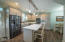 45 NW Sunset St, Depoe Bay, OR 97341 - Modern kitchen with Quartz