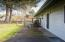 4799 NE Johns Ave, Lincoln City, OR 97364 - Patio area with windbreak