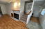 225 NW Spruce St, Waldport, OR 97394 - Fireplace