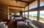6745 Neptune Ave, Gleneden Beach, OR 97388 - Living Room Open to Dining Area