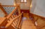 475 SW Coast Ave, Depoe Bay, OR 97341 - wainscoated stairwell