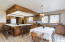 3802 NW Shore View Dr, Waldport, OR 97394 - Kitchen Dining Area