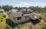 3802 NW Shore View Dr, Waldport, OR 97394 - Aerial Back Of The Home