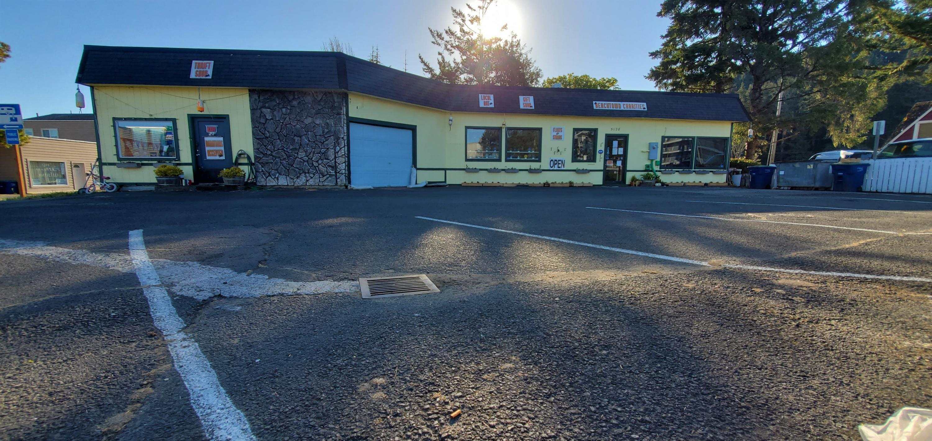 5128 SE Hwy 101, Lincoln City, OR 97367 - Morning over the building