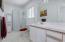435 SW Edgewater, Depoe Bay, OR 97341 - Lower Level Bedroom - Slight Ocean View